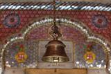 Krishna Temple Bell in New Delhi Photographic Print
