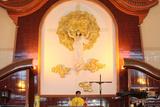 Catholic Mass in a Vietnamese Church Photographic Print