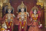 Bhaktivedanta Manor Temple Statues of Rama Photographic Print