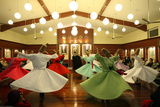 Whirling Dervish Performance in Silvrikapi Meylana Cultural Center Photographic Print