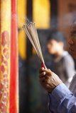 Thien Hau Temple, Burning Incense During Tet, the Vietnamese Lunar New Year Celebration Photographic Print