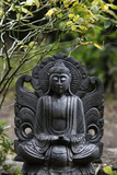 Statue in the Garden of Buddhapadipa Temple Photographic Print