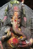Elephant-Headed Hindu God Ganesh Lámina fotográfica