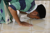 Salat Is the Obligatory Muslim Prayers, Performed Five Times Each Day by Muslims Photographic Print
