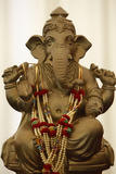 Bhaktivedanta Manor Statue of Ganesh Photographic Print