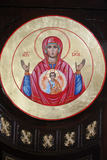 Icon in St Stephen's Bulgarian Church Photographic Print
