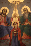 Icon in Saint Mary of the Mongols' Greek Church Photographic Print