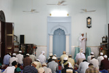 The Friday Prayer, Worshipers Listening to the Sermon Photographic Print