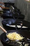 Kitchen at Janmashtami Festival at Bhaktivedanta Manor Iskcon (Hare Krishna) Temple Photographic Print