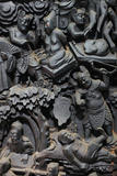 Jade Emperor Pagoda, Hell Wooden Sculpture Photographic Print