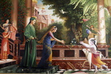 Painting at Bhaktivedanta Photographic Print