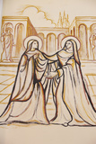 Painting in Lomate Cathedral, The Visitation Photographic Print