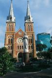 Saigon Cathedral Photographic Print