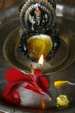Oil Lamp Photographic Print