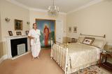 Bhaktivedanta Manor a Devotee in Srila Prabhupada's Bedroom Photographic Print