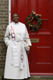 Reverend Rose Hudson-Wilkin Outside Her Home in Hackney Photographic Print