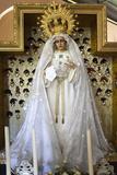 Virgin Mary Statue in Warfhuizen Catholic Hermitage Photographic Print