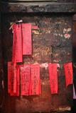 Jade Emperor Pagoda, Paper Prayers Photographic Print