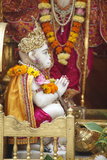 Bhaktivedanta Manor Temple Statue of Monkey God Hanuman Photographic Print