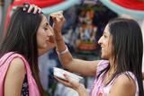 Tilak Greeting at Janmashtami Festival Photographic Print