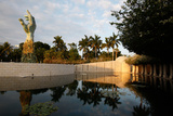 The Holocaust Memorial, Miami Beach, Designed by Kenneth Treister Photographic Print