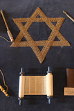 Symbols of Judaism Photographic Print
