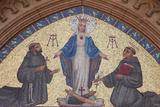 St Anthony of Padua's Church Tympanum Mosaic Photographic Print