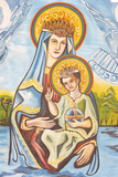 Our Lady of Togo Fresco Photographic Print