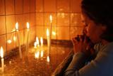 Prayer in Saint Anthony's Church Photographic Print