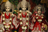 Bhaktivedanta Manor Iskcon (Hare Krishna) Temple Deities Photographic Print