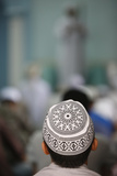The Friday Prayer, a Congregational Prayer (Salat) That Muslims Hold Every Friday Photographic Print