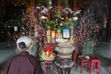 Altar for Vinh Nghiem Temple, Altar for the Ancestors Photographic Print