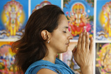 Hindu Prayer Photographic Print