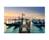 Sunrise In Venice Photographic Print by Francesco Carovillano