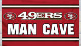 NFL San Francisco 49er's Man Cave Flag with 4 Grommets Flag