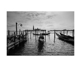 Venetian View With Gondolas From Saint Mark Square Photographic Print by Francesco Carovillano