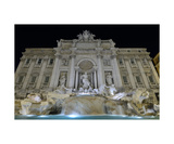 Trevi Fountain At Night Photographic Print by Francesco Carovillano
