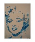 Star Marylin Photographic Print by Christiane Guerry
