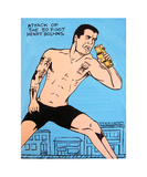 Attack Of The 50 Foot Henry Rollins Photographic Print by Andrew Fitzpatrick