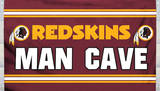 NFL Washington Redskins Man Cave Flag with 4 Grommets Flag