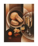 Plaisirs Gourmands Photographic Print by Frank Godille