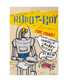 The Adventures Of Robot Boy! Photographic Print by Andrew Fitzpatrick