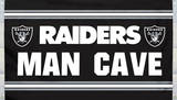 NFL Oakland Raiders Man Cave Flag with 4 Grommets Flag