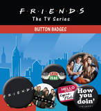 Friends - Characters Badge Pack Badge