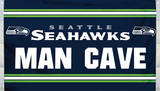 NFL Seattle Seahawks Man Cave Flag with 4 Grommets Flag