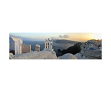 Panorama Of Santorini, Greece Photographic Print by Francesco Carovillano