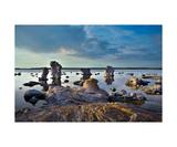 Gotland Sea Rocks Photographic Print by Francesco Carovillano