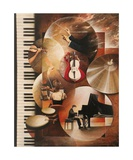 Concerto Pour Piano Photographic Print by Frank Godille