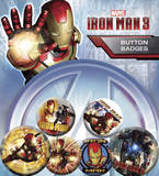 Iron Man 3 Movie Badge Pack Badge