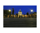 Night In Pont Des Arts Photographic Print by Ariel Arias